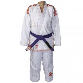 Kimono Jiu-jitsu Scopion Branco Infantil