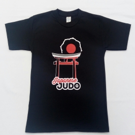 Camiseta Judô Preta